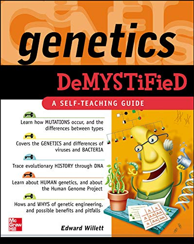 Genetics Demystified: A Self-teaching Guide from McGraw-Hill Education