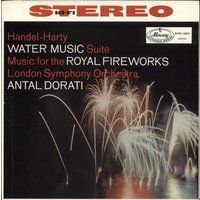 George Frideric Handel Handel-Harty: Water Music Suite & Music For The Royal Fireworks 1958 UK vinyl LP AMS16031