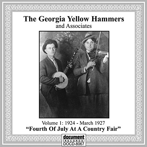 Georgia Yellow Hammers & Associates Vol 1 (1924 - March 23,