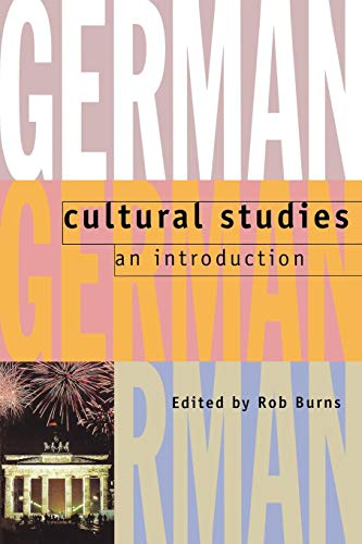 German Cultural Studies: An Introduction from Clarendon Press