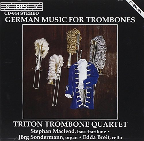 German Music for Trombones from BIS