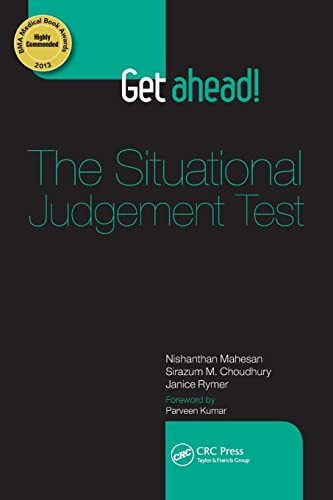 Get Ahead! The Situational Judgement Test from CRC Press
