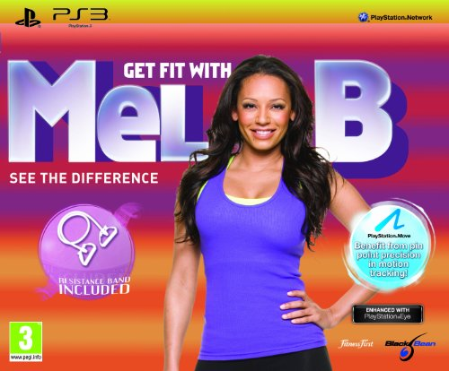 Get Fit with Mel B plus Resistance Band (PS3) from pqube