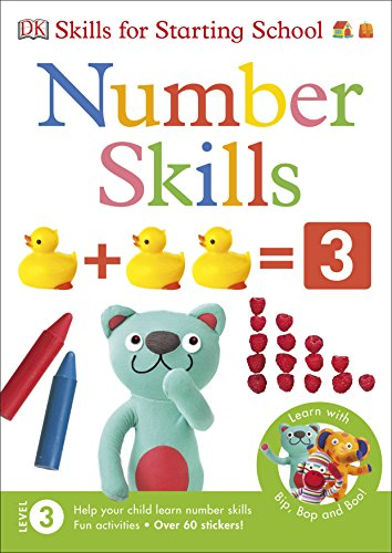 Number Skills (Skills for Starting School) from DK Children
