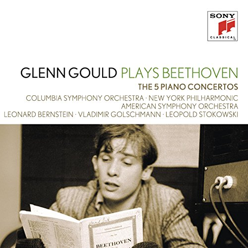 Glenn Gould Plays Beethoven: The 5 Piano Concertos from SONY CLASSICAL