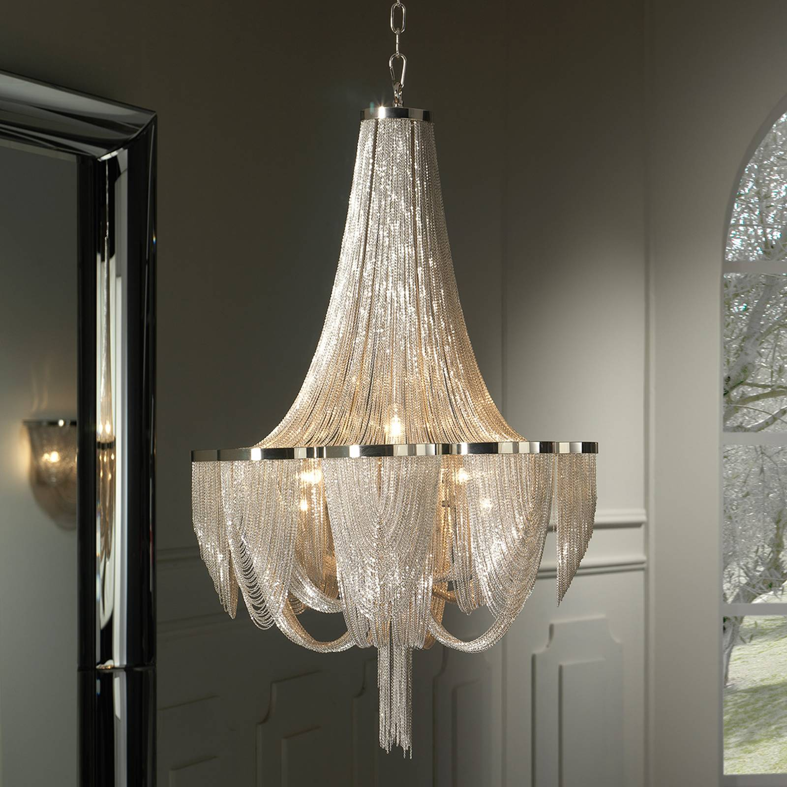 Glorious chandelier Minerva from Schuller