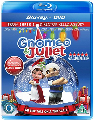 Gnomeo & Juliet - Festive Sleeve COMBI (DVD & BLU-RAY) from Entertainment One