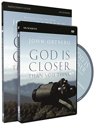 God Is Closer Than You Think Participant's Guide with DVD from Zondervan