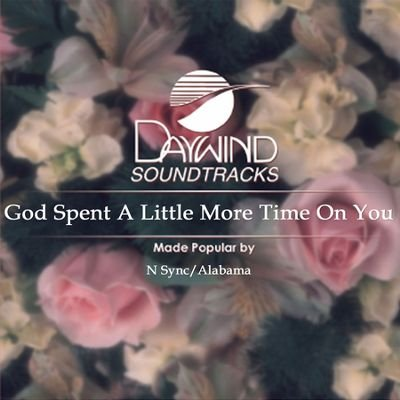 God Spent A Little More Time On You [Accompaniment/Performance Track] from Daywind