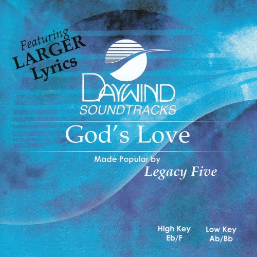 God's Love [Accompaniment/Performance Track] from Daywind