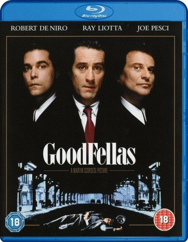 Goodfellas [Blu-ray] [1990] [Region Free] from Warner Home Video