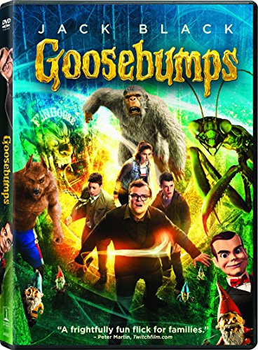 Goosebumps (DVD + UltraViolet)(Region 1) (NTSC) from Sony Pictures Home Entertainment