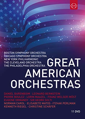 Great American Orchestras (DVD ) [2017] from EuroArts