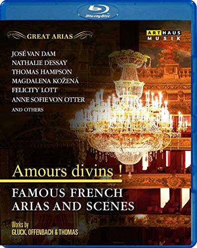 Great Arias:Amours Divins [José van Dam; Natalie Dessay; Thomas Hampson; Magdalena Kozena; Felicity Lott; Anne Sofie von Otter and others] [ARTHAUS: Blu-ray] from Arthaus
