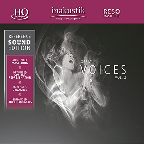 Great Voices Vol.2: Reference Sound Edition from Inakustik
