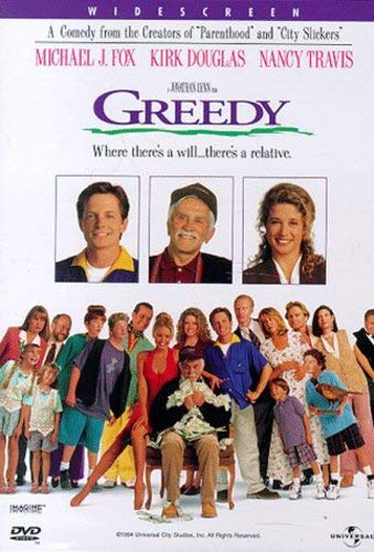 Greedy [DVD] [1994] [Region 1] [US Import] [NTSC] from Universal Home Video