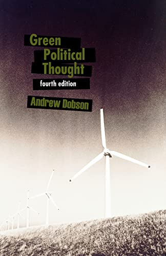 Green Political Thought - Ed4 from Routledge