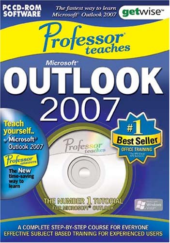 Greenstreet Professor Teaches Microsoft Outlook 2007 Training Suite (PC) from Greenstreet