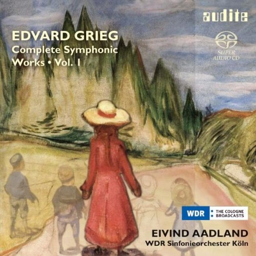 Grieg: Complete Symphonic Works Vol.1 from AUDITE