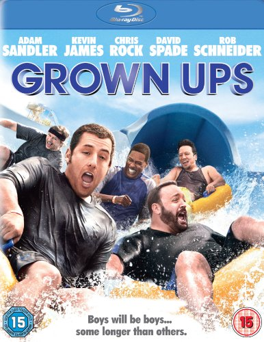 Grown Ups [Blu-ray] [2011] [Region Free] from Sony Pictures Home Entertainment