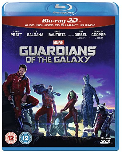 Guardians Of The Galaxy [Blu-ray 3D + Blu-ray] [Region Free] from Walt Disney Studios Home Entertainment