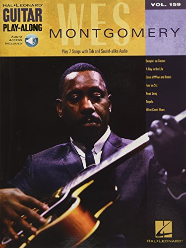 Guitar Play-Along Volume 159: Wes Montgomery (Book/Online Audio) from Hal Leonard