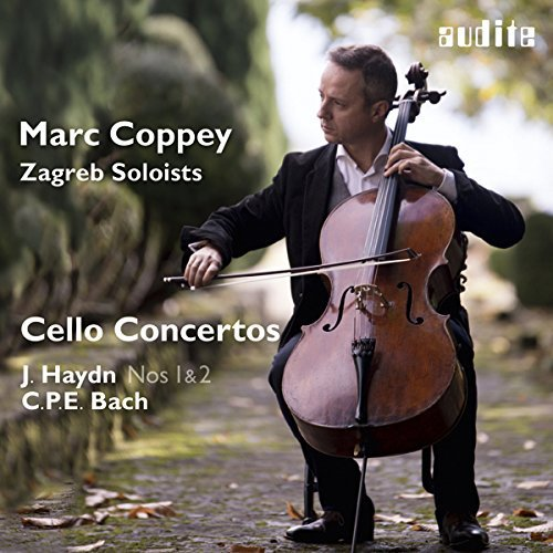 HAYDN / CPE BACH: CELLO CONCERTOS from AUDITE