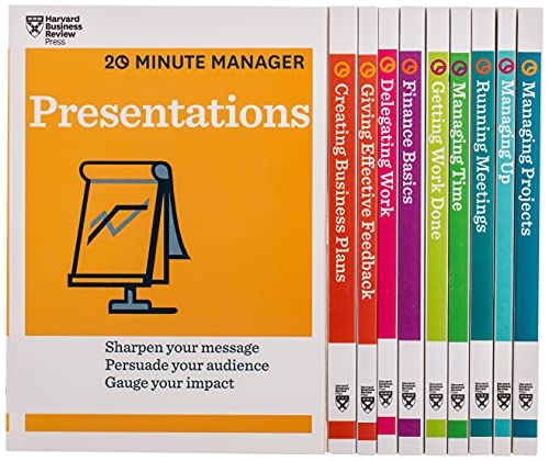 HBR 20-Minute Manager Boxed Set (10 Books) (HBR 20-Minute Manager Series) from KLO80
