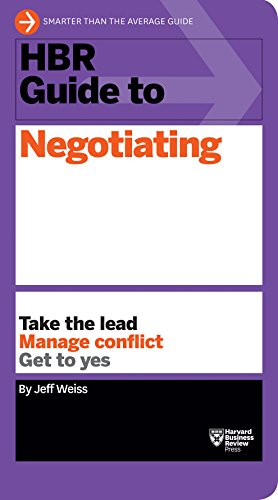HBR Guide to Negotiating (HBR Guide Series) from KLO80