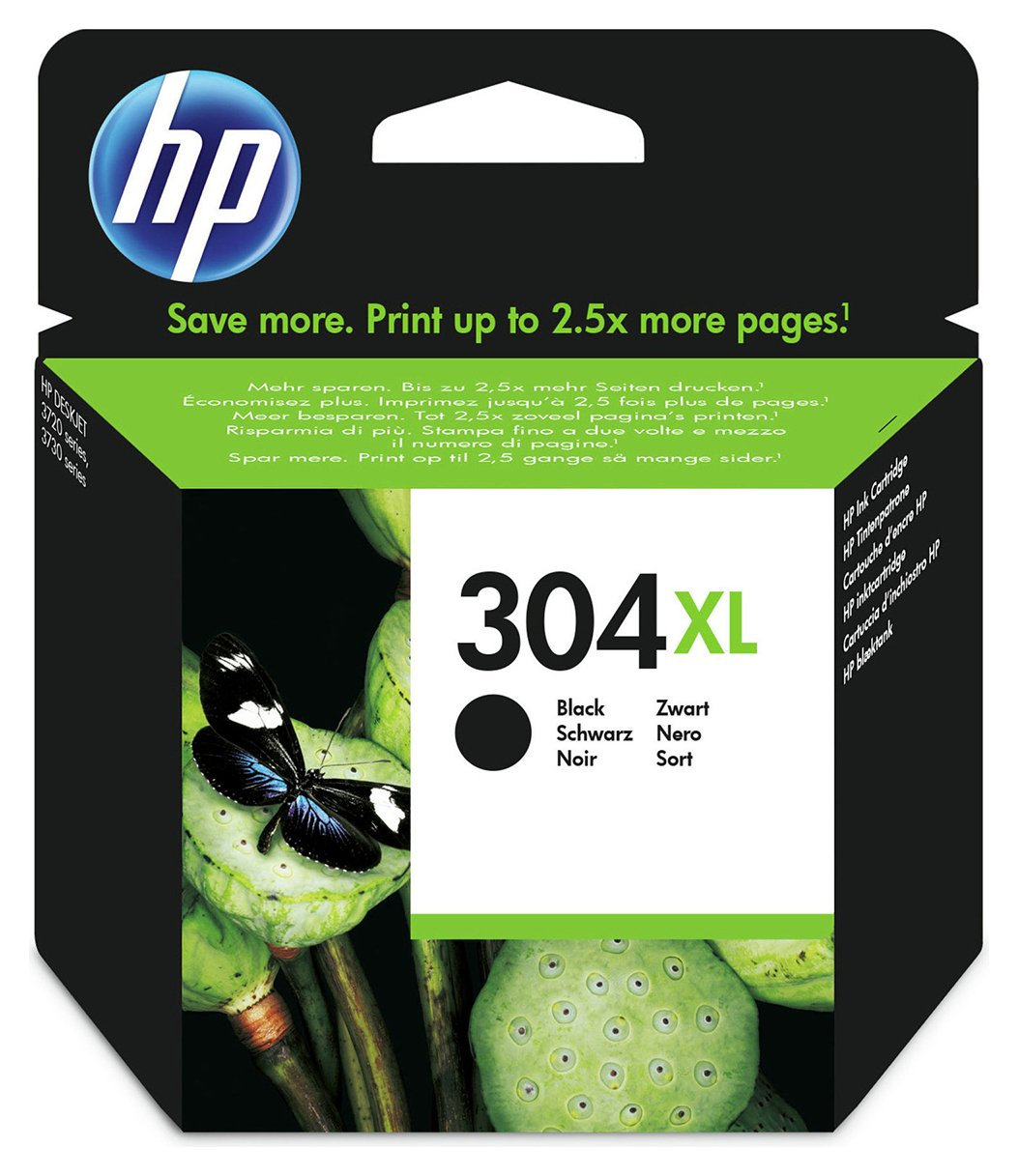 HP 304XL Black Ink Cartridge from HP