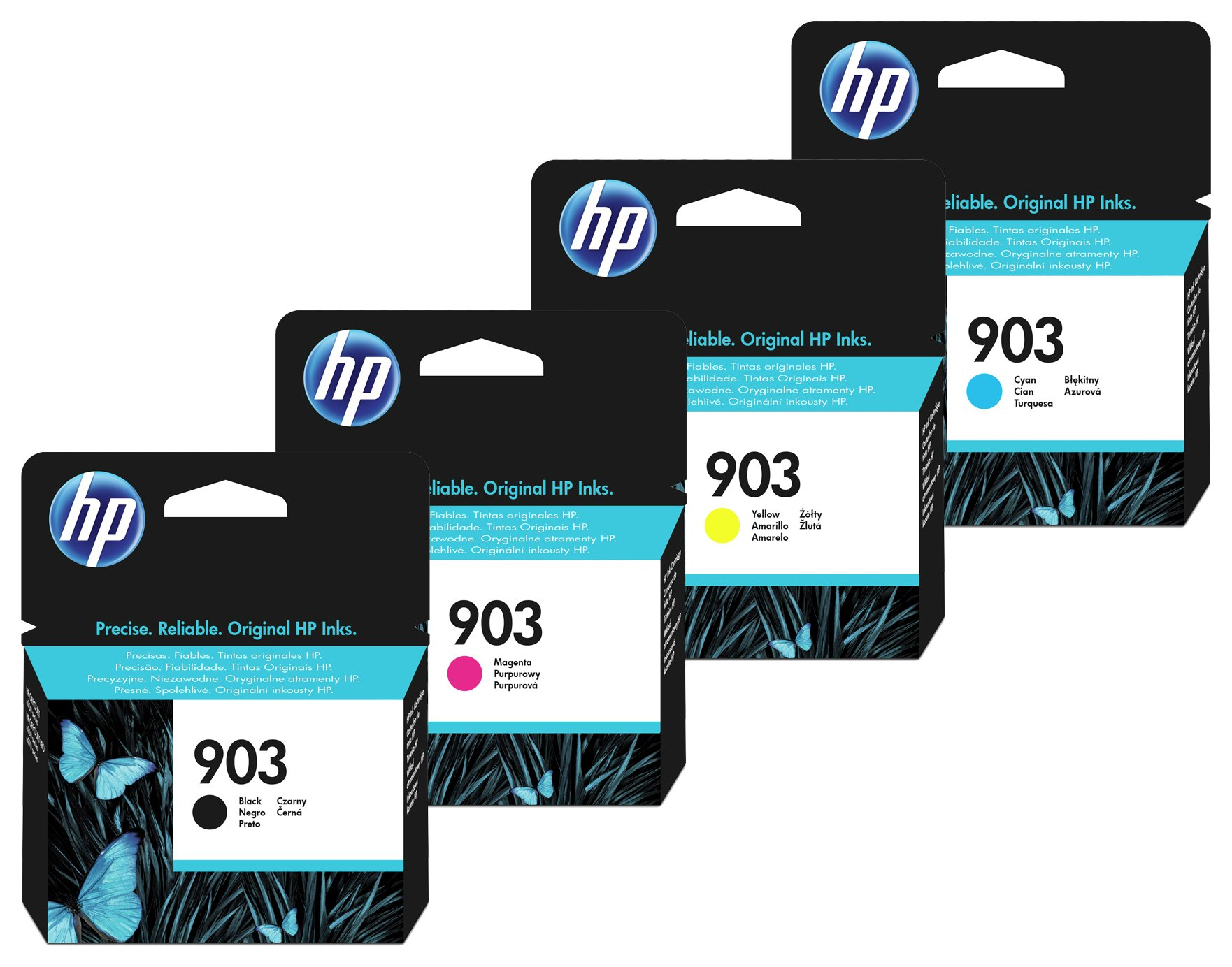 HP 903 Black and Tri-Colour Ink Catridge Multipack from HP