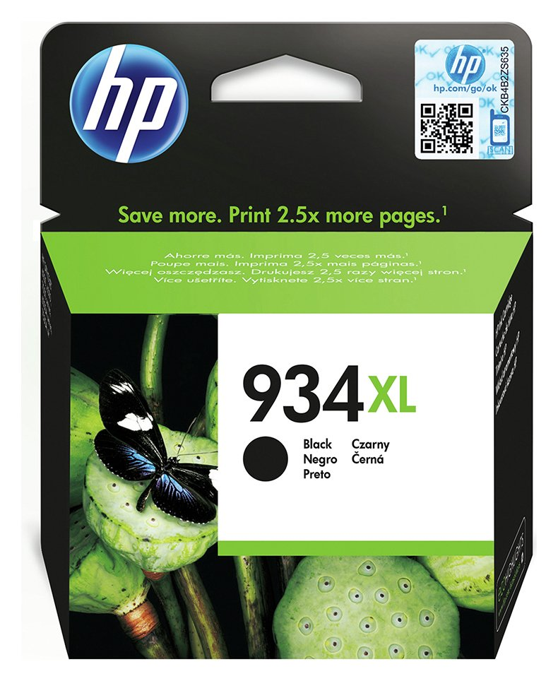 HP 934XL Black Ink Cartridge from HP