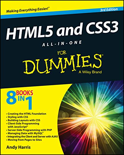 HTML5 and CSS3 All-in-One For Dummies from John Wiley & Sons