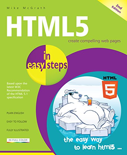 HTML5 in easy steps, 2nd Edition from In Easy Steps Limited