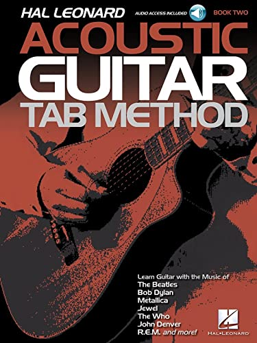 Hal Leonard Acoustic Guitar Tab Method  Book 2 (Includes Online Access Code) from Hal Leonard