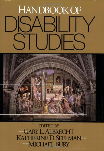 Handbook of Disability Studies from SAGE Publications, Inc