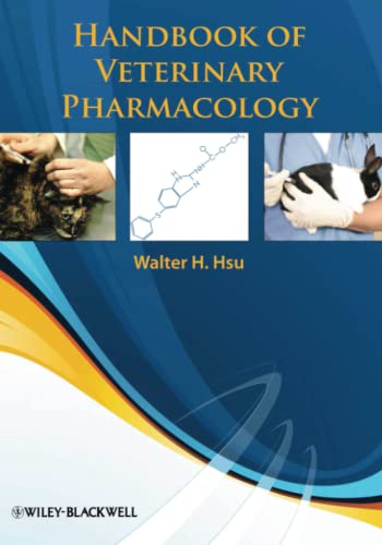 Handbook of Veterinary Pharmacology from Wiley-Blackwell