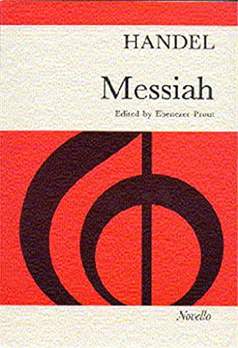 Handel Messiah Prout Vocal Score Paper from Novello & Co Ltd.