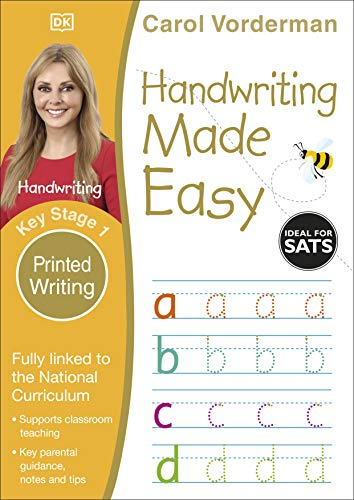 Handwriting Made Easy Ages 5-7 Key Stage 1 Printed Writing (Made Easy Workbooks) from DK Children