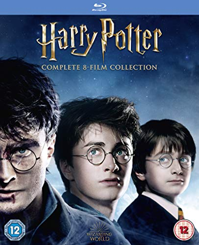 Harry Potter - Complete 8-film Collection [Blu-ray] [2016] [Region Free] from Warner Bros