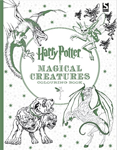 Harry Potter Magical Creatures Colouring Book 2 from Warner Brothers