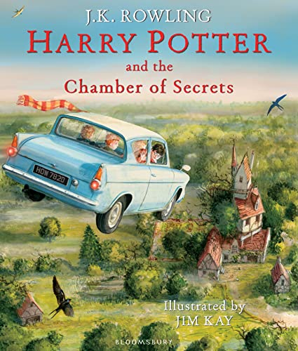 Harry Potter and the Chamber of Secrets: Illustrated Edition (Harry Potter Illustrated Edtn) from Bloomsbury Publishing PLC