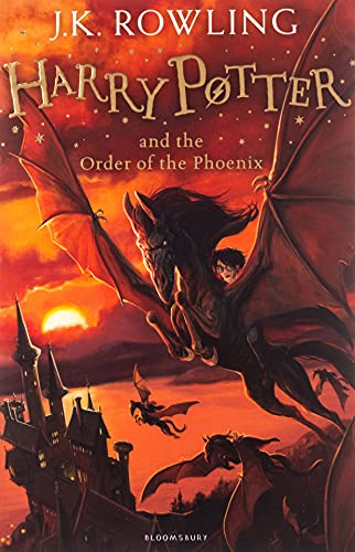 Harry Potter and the Order of the Phoenix: 5/7 (Harry Potter 5) from Bloomsbury Children's Books