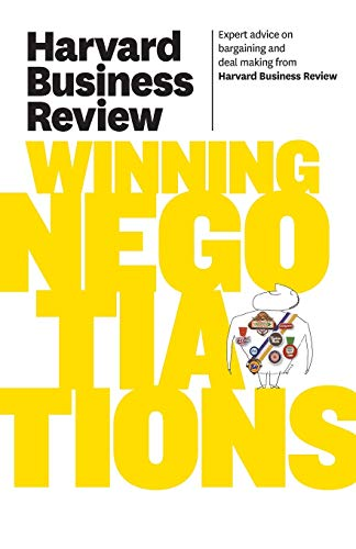 Harvard Business Review on Winning Negotiations (Harvard Business Review Paperback Series) from KLO80