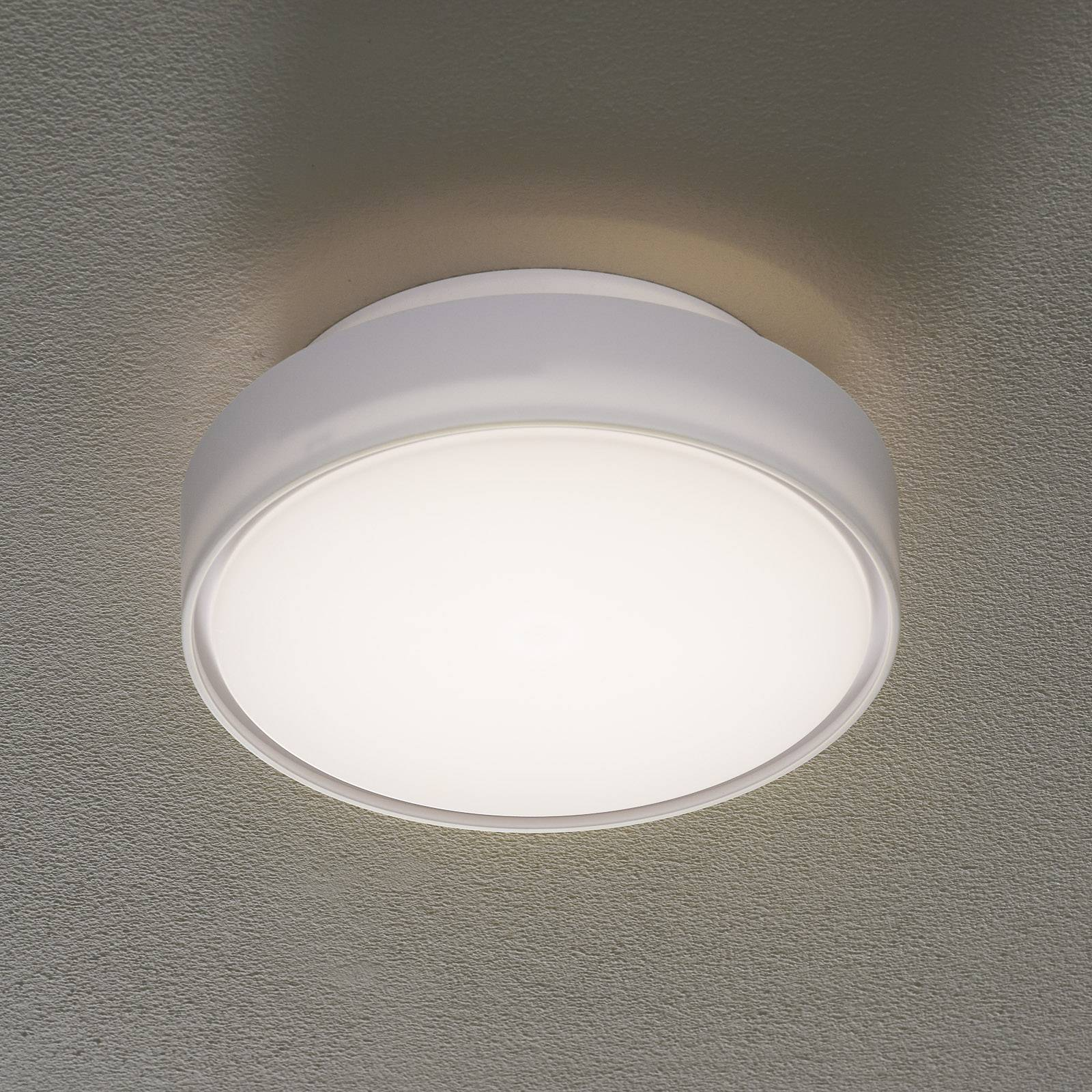 Hatton LED Ceiling light IP65 25 cm from Fabas Luce