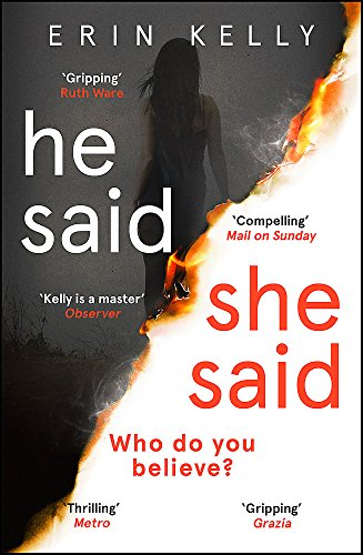 He Said/She Said: the must-read bestselling suspense novel of the year from Hodder Paperbacks