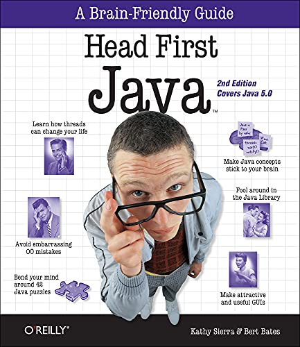 Head First Java from O'Reilly Media