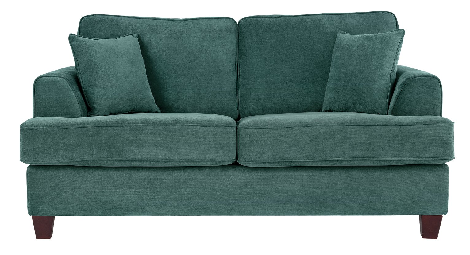 Heart of House Hampstead 2 Seater Fabric Sofa Bed - Ocean. from Create Your Own
