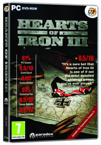 Hearts of Iron III (PC CD) from Avanquest Software