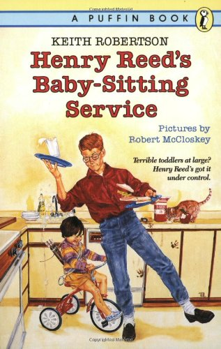 Henry Reed's Baby Sitting Service from Puffin Books